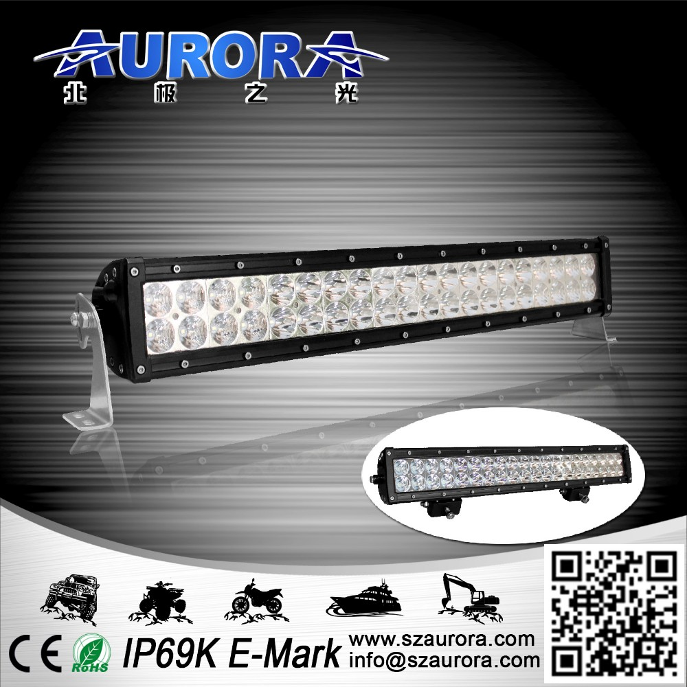 20 inch led light bar strobe auto led light led bulb car headlight