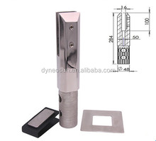 2205 stainless steel square core drill spigots square or round shape
