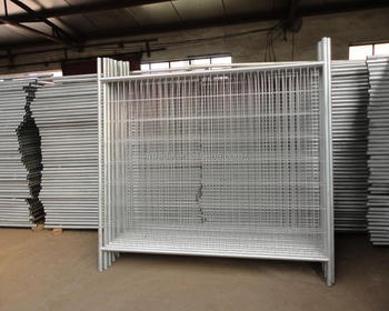 metal fence panels temporary fence guardrail removable