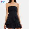 New design high quality wholesale summer sleeveless sexy mini backless dresses for women