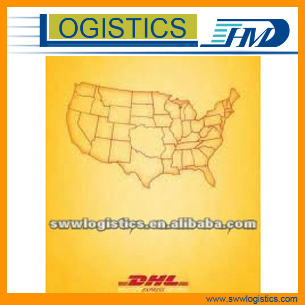cheap dhl/Fedex/ups international shipping rates from Shenzhen to USA