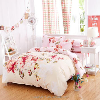 New 100% polyester cheap bed sheets 3d designs BS258
