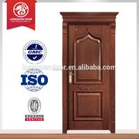 handmade carving solid wooden door design for sales