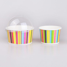 Take Away Ice Cream Rainbow Paper Cup Cake Wrappers