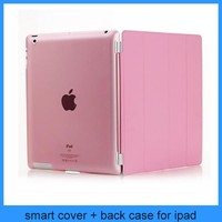 Tri-Fold Slim Smart Magnetic Cover Case for Apple iPad Air iPad 5 Sleep Wake w/ Stand