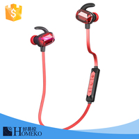 For IOS/Android smart phone CSR8640 V4.0 patented long distance sport stereo bluetooth headset