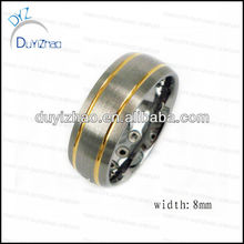 yiwu factory wholesale cheap high quality mens ring metal finger tungsten mens rings