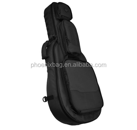 4 Battle Guitar-Shaped Padded Rifle Case