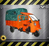 Cargo Scooters Nigerian Enclosed Cabin Three Wheel Motorcycle For Sale