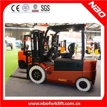 NBO 2 ton toyota electric forklift with 48v electric forklift motor for sale
