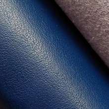 "Micro fibre leather and PU synthetic surface material for shoes upper thickness 0.9mm width 55"" blue color KS-HD1206"