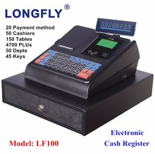 Cheaper Electronic Cash Register Machine with Cash Box Drawer