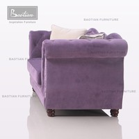 Purple Apartment furniture in Arab sofa for furniture living room for meeting room