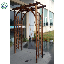 Customized garden arches and arbors rustic furniture
