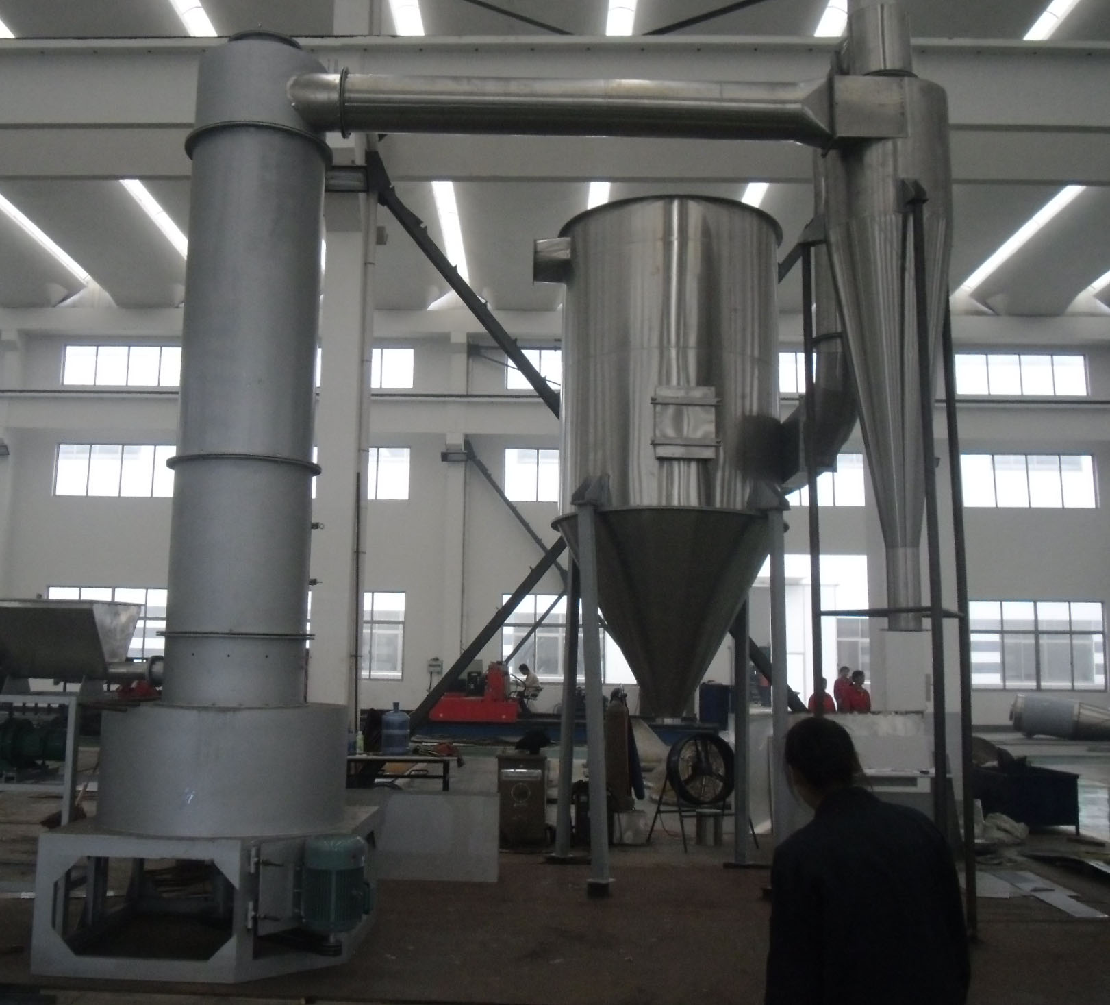 Precipitated calcium carbonate spin flash dryer/drying machine/drying equipment
