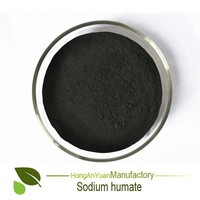 China product HAY Pingxiang Factory sodium humate powder for plant growth