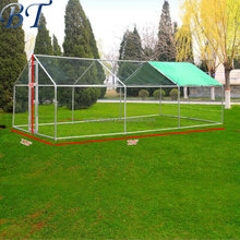 20x10 ft Chicken Run Walk in Coop for Poultry Dog Rabbit Hen Cage Pen.