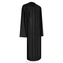 Shiny Black Graduation Gown