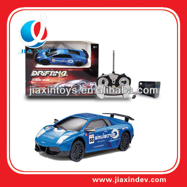 Plastic rc drift car toy model for children