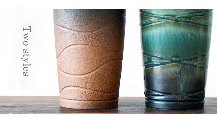 jingdezhen handmade retro porcelain drink mugs