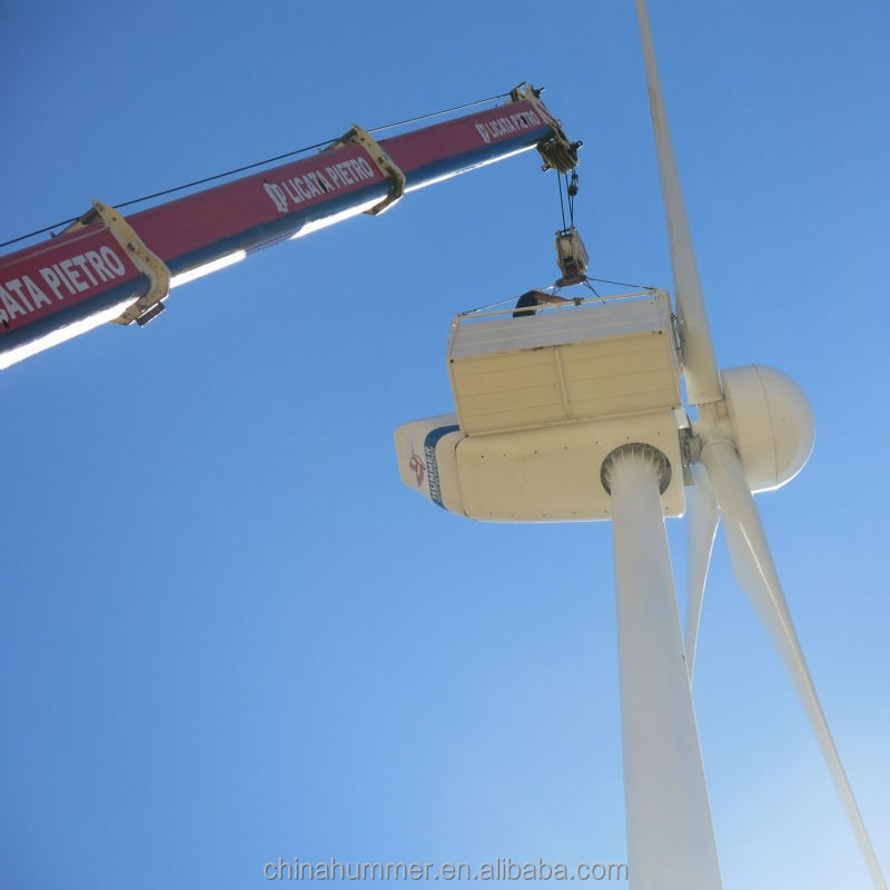 100kW wind turbine alternator for power solution