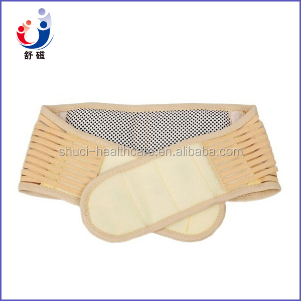 Slimming massager magnetic tourmaline heating belt made in china