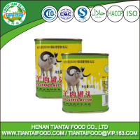 Round tins salt mutton 12oz