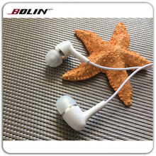 In Ear Plastic Earphone for iPod/iphone/mp3 player