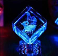 the Zodiac cube decoration Creative wedding gift craft