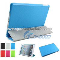 Luxury Leather Smart Cover Ultra Slim Stand Case For iPad air
