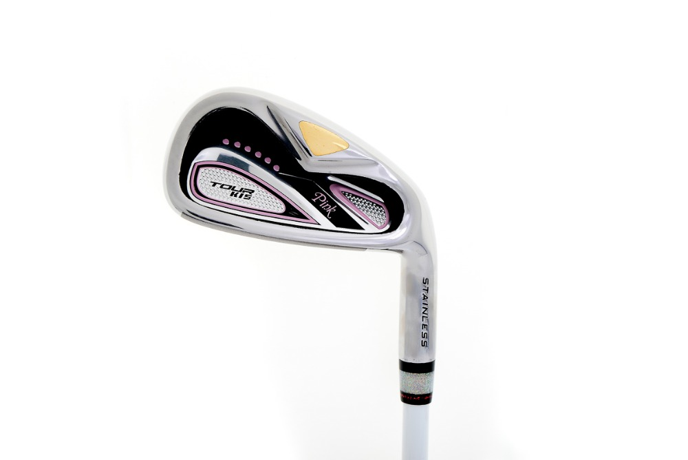 Promotion lady pink color golf irons number#7
