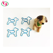 Lovely Dog Shape metal Paper clips with quality PET coated