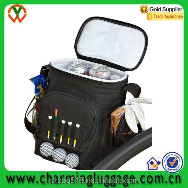 large capacity sport mutifunction 12-can carrying golf cooler bag insulated bag cooler bag