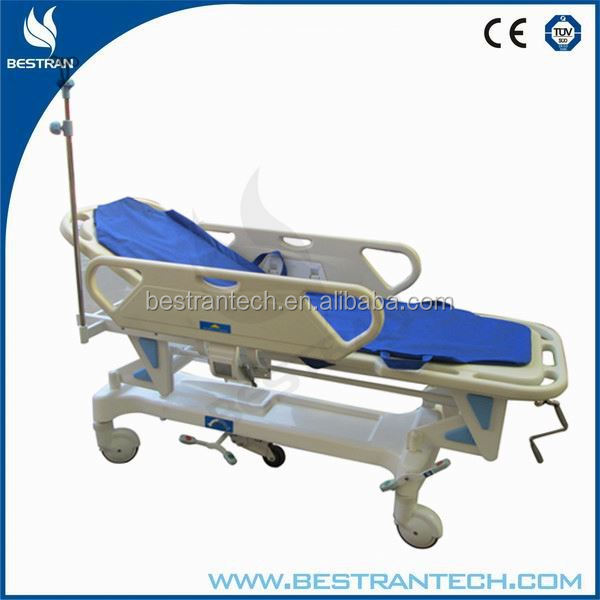 BT-TR002 Adjustable Hospital patient transfer stertcher bed