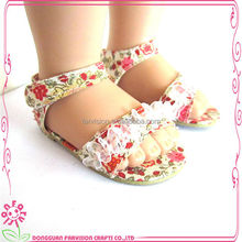 Dongguan Farvision custom made 12 inch doll shoes
