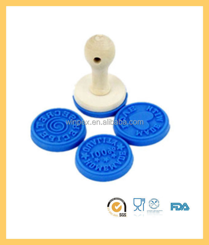 Food Grade Silicone Cookie Stamp