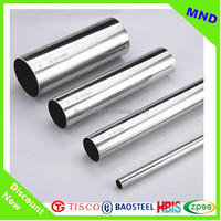 alibaba china supplier 304 stainless stell pipe for balcony railing prices