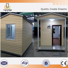 Quality security guard booth prefabricated house manufacturer Discount
