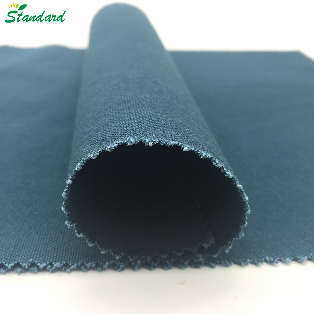 popular design heavy woven plain 100% cotton solid dyed 340gsm duck canvas fabric for tent