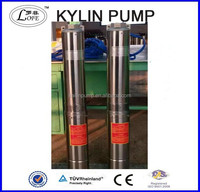 3inch, 4inch, 6inch, 8inch agriculture irrigation submersible water pump, deep well pump, farm irrigation pump with CE approval
