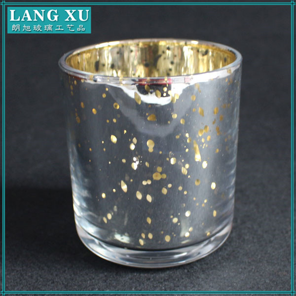 silve&gold color mercury glass votives wholesale