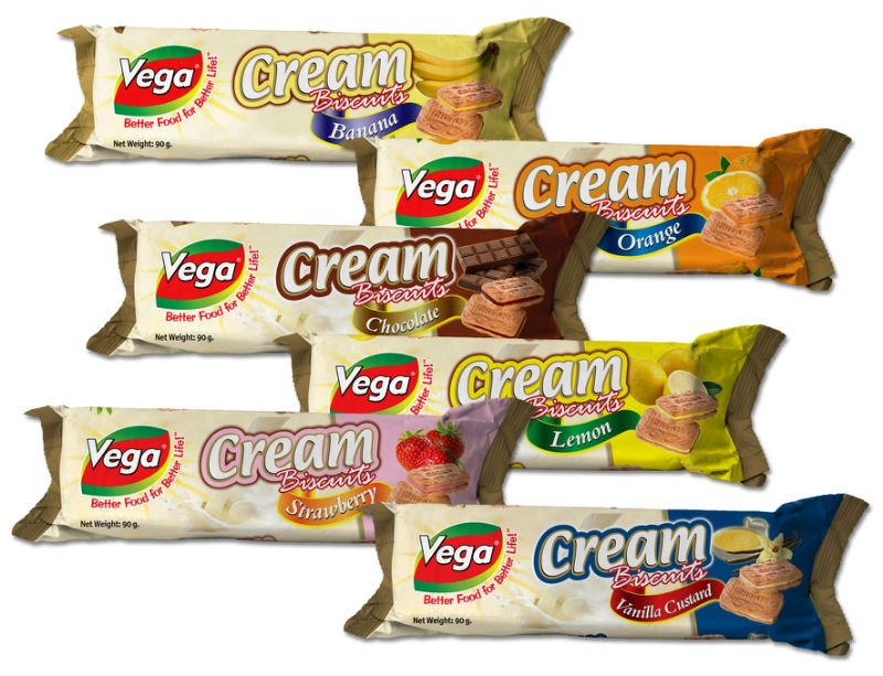 Vega Cream Biscuits