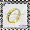 Titanium Stainless Steel Gear Gold Plated
