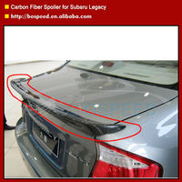 Carbon Fiber lip Spoiler for Subaru Legacy/Trunk Spoiler