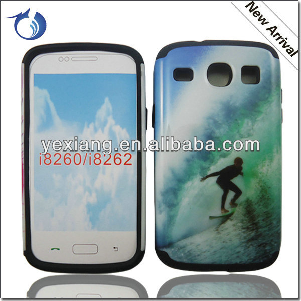 Surfing Photo Design 2 Core I8260 I8262 Mobile Phone Case-Wholesale