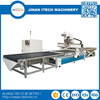 single arm auto tool changer cnc router machine for panel furniture cnc drilling machine price