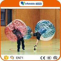 China factory bubble football sports new tpu bubble football bumper ball
