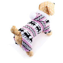 Small Pet Dog Clothes For Dog Coat Jacket 2016 New Snowflake Deer Puppy Products For Animals Clothing For Dogs