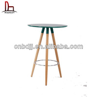 modern beech wood MDF used bar table
