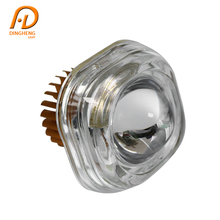 Oem Factory China Rtd Led Head Light For Motorcycle Bullet Double Square Headlight